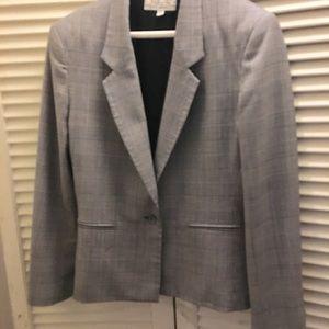 Talbots Jacket size 10 Houndstooth